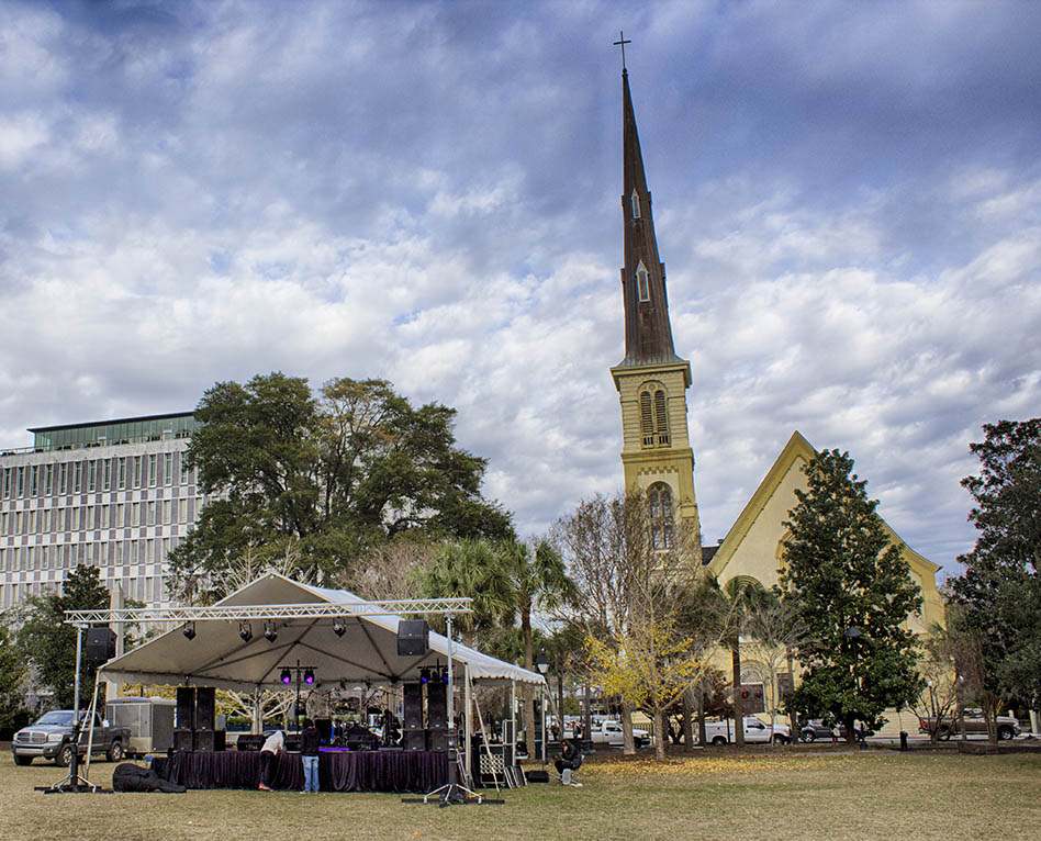 Stage Presence Tent and Stage Rentals in Charleston, SC