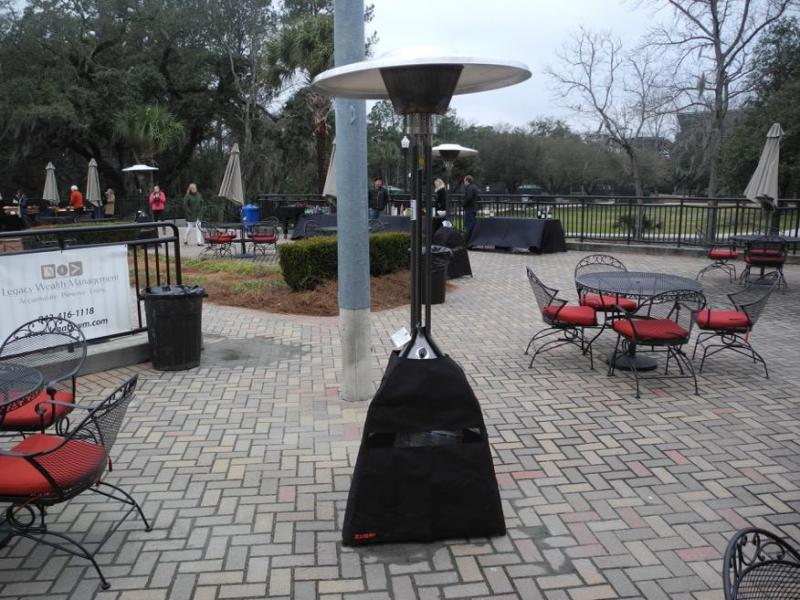 Outdoor Heaters Stage Presence Event Rentals Charleston, SC