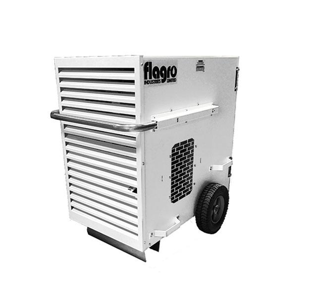 Forced AIr Portable Heater Stage Presence Event Rentals Charleston, SC